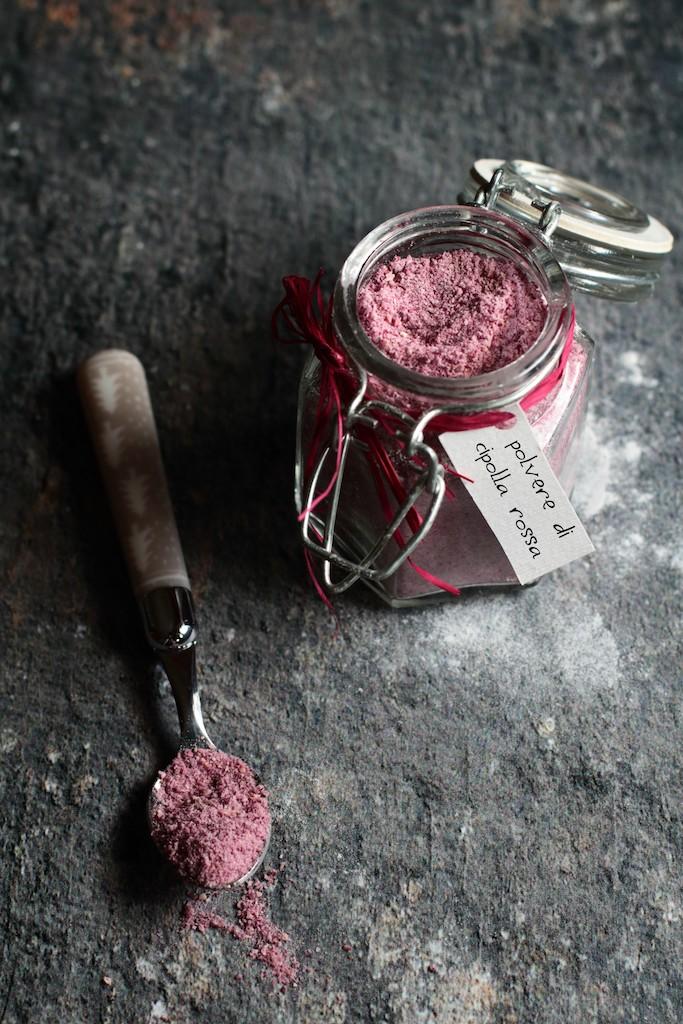 Polvere di cipolla rossa