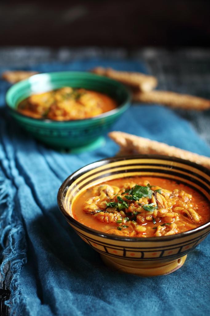 Zuppa marocchina di lenticchie, Laadass