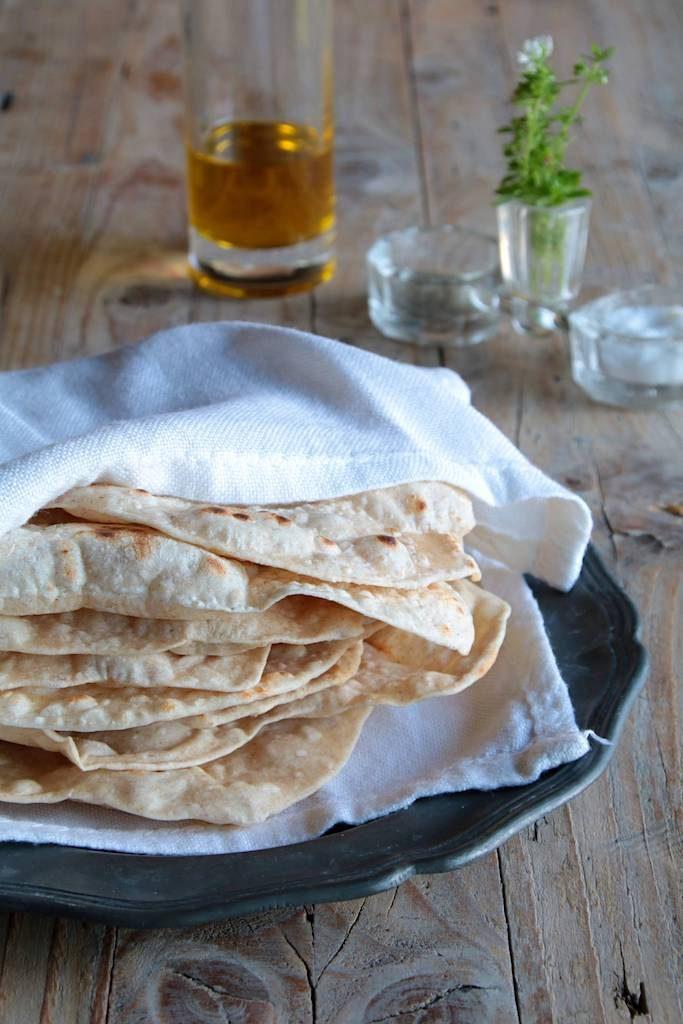 chapati, pane indiano senza lievito