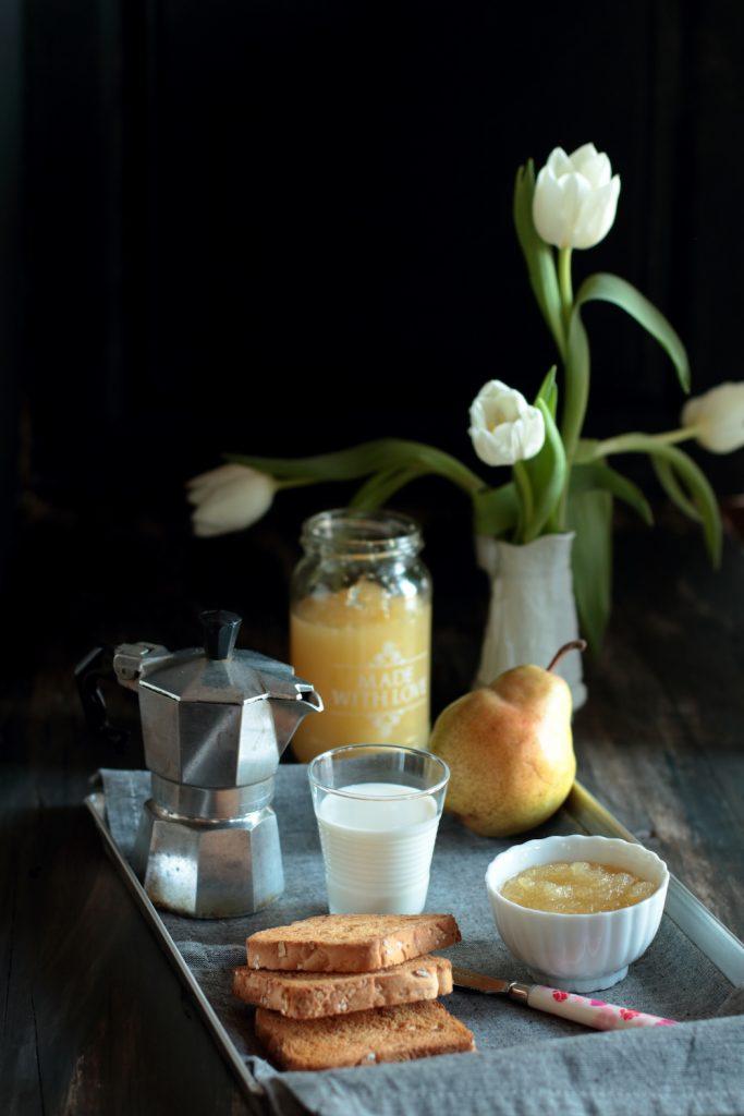 confettura di pere limone e zenzero