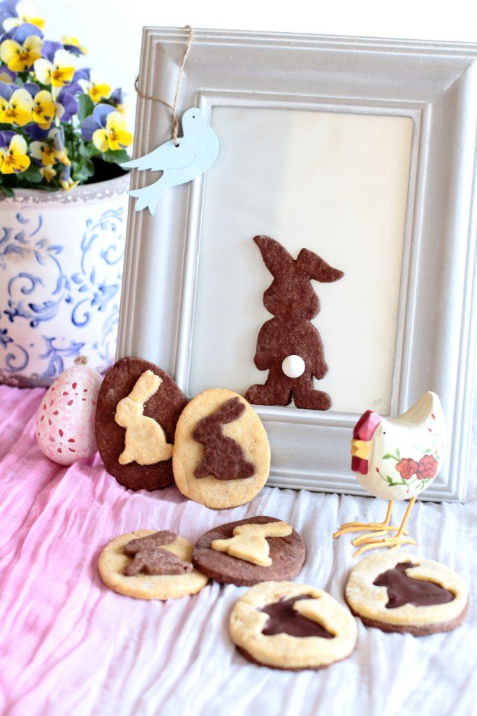 biscotti pasquali bicolori