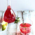 Tè alla fragola e lampone