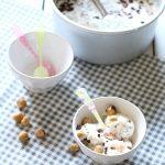 stracciatella allo yogurt e cocco