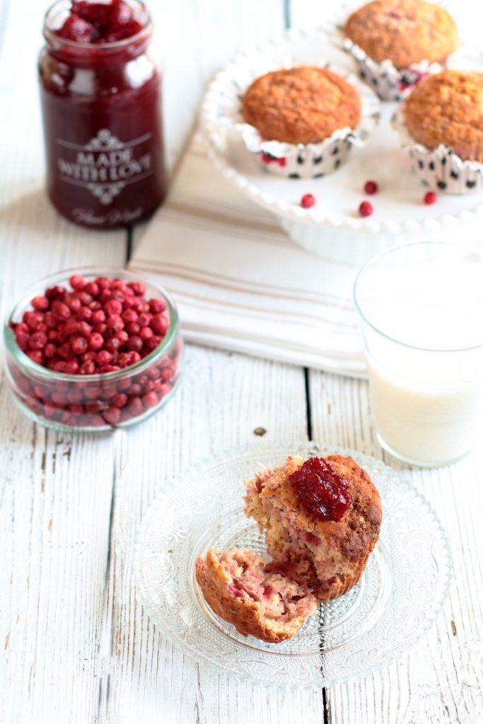 Muffin alla confettura