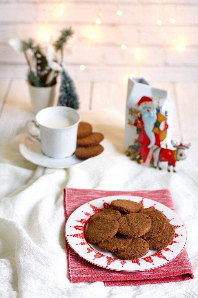 Biscotti al farro integrale e cocco