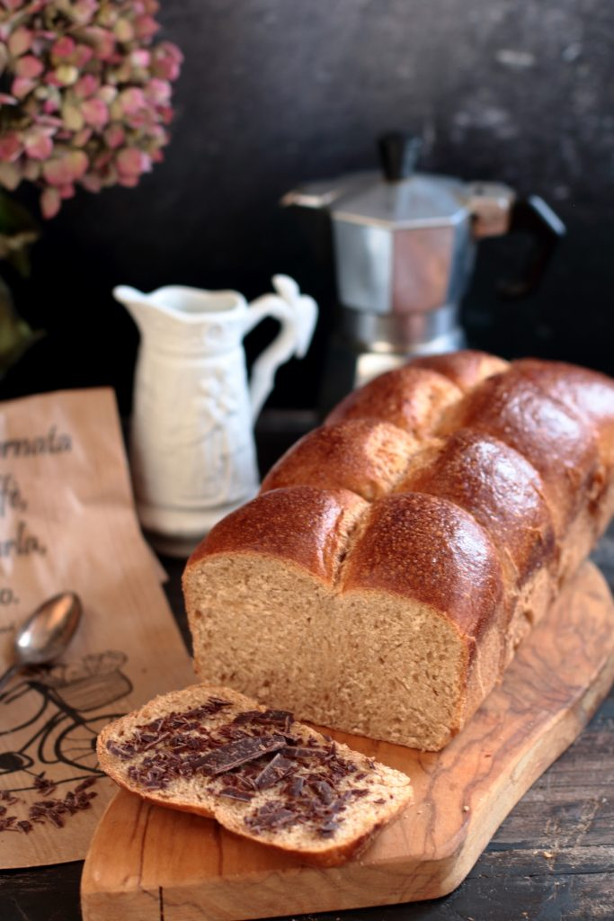 pan brioche semintegrale