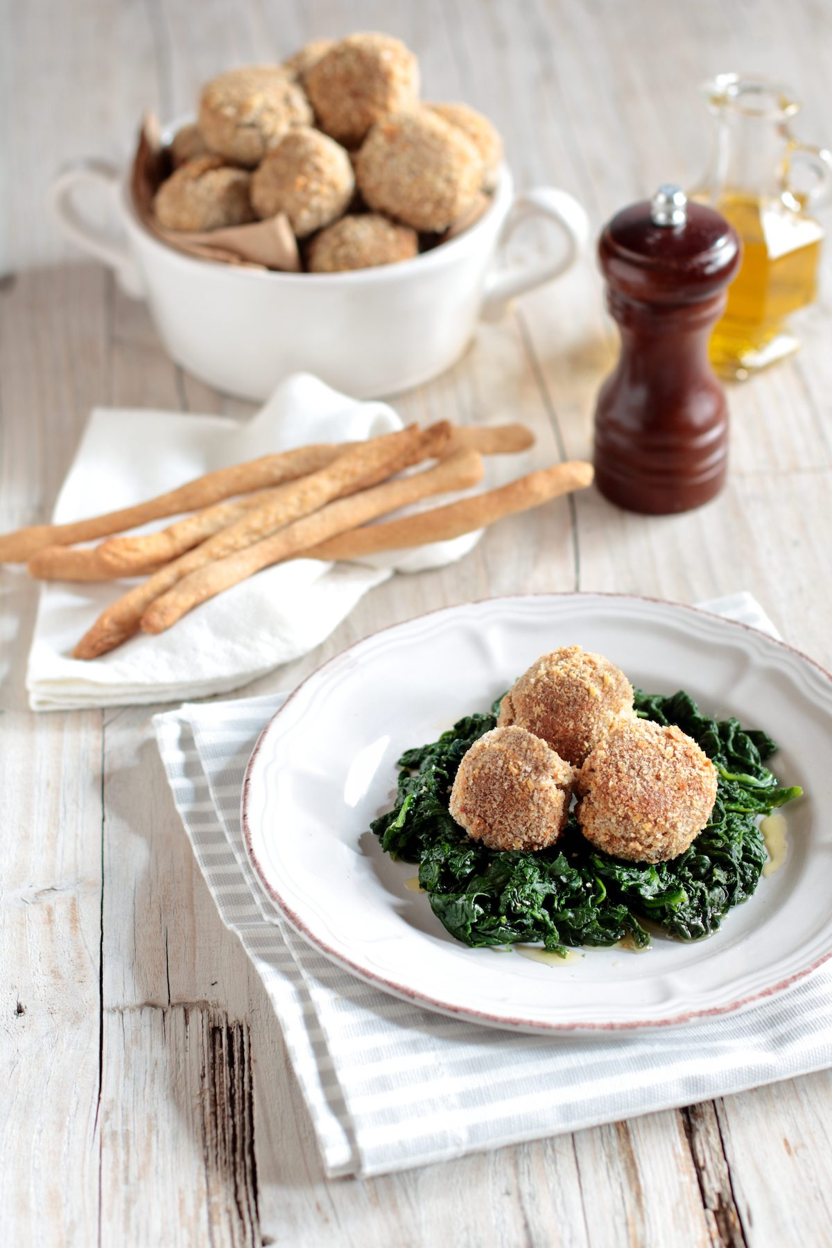 polpette di ceci alle olive