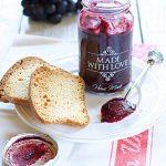 Confettura di uva fragola senza zucchero
