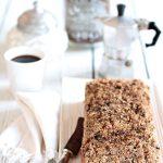 Banana bread al cioccolato e caffè